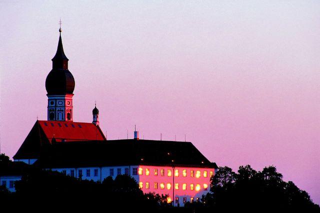 Kloster Andechs Abendstimmung