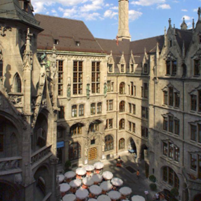 Neues Rathaus München Prunkhof