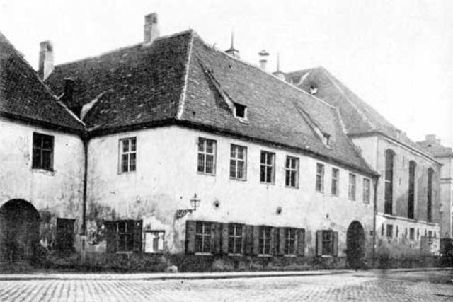 Historische Ansicht vom Hofbräuhaus