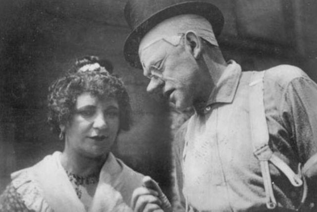 Liesl Karlstadt und Karl Valentin.