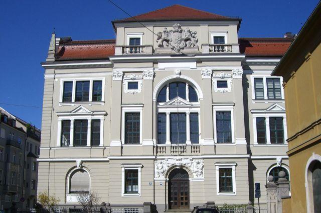 Fassade Paläontologisches Museum