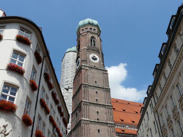 Frauenkirche, Ansicht von unten