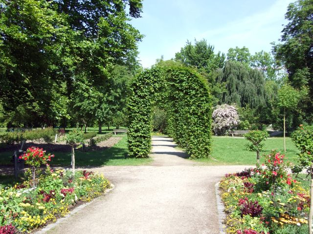 In München Untergiesing befindet sich die ein Pflanzenparadies mit Themengärten.