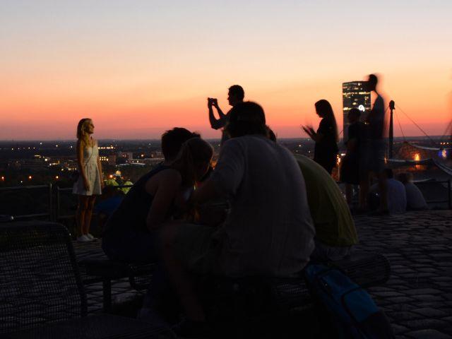 Sommerabend auf dem Olympiaberg