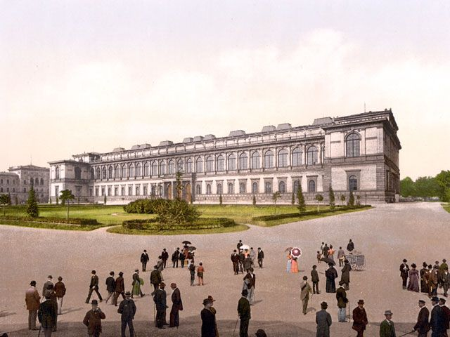 Alte Pinakothek 1900