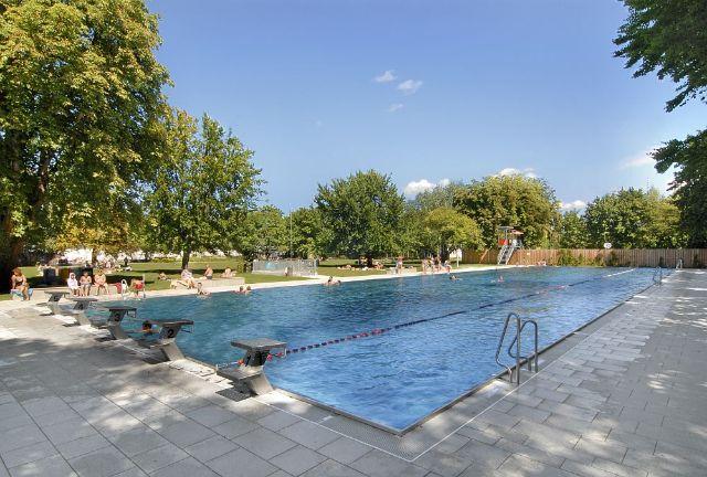 Public Outdoor Swimming Pools Munich