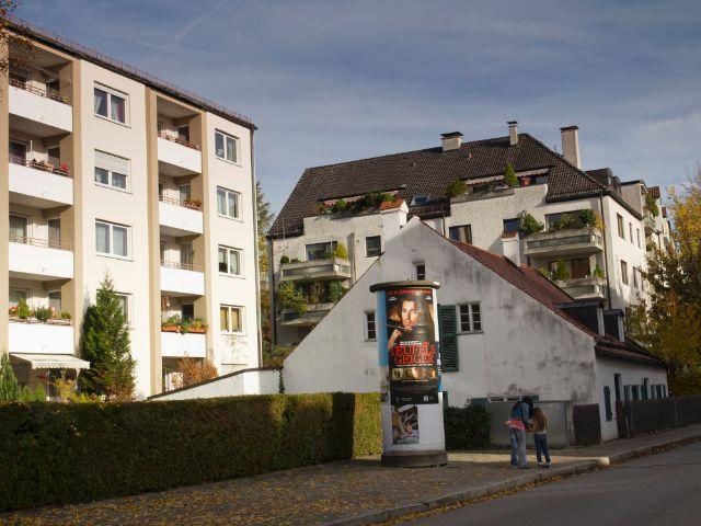 Wohngegend in München Berg am Laim