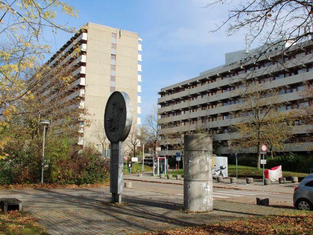 Hochhäuser der Studentenstadt Freimann