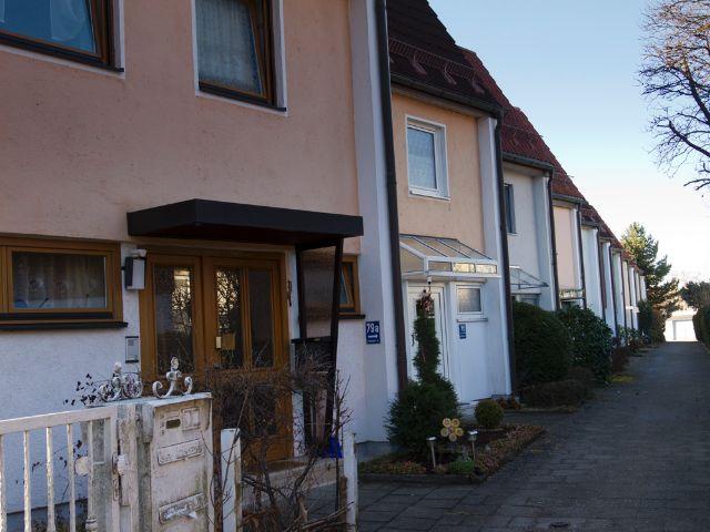 Wohngegend in München Fürstenried