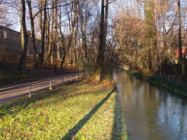 Westermühlbach in der Isarvorstadt/Glockenbachviertel