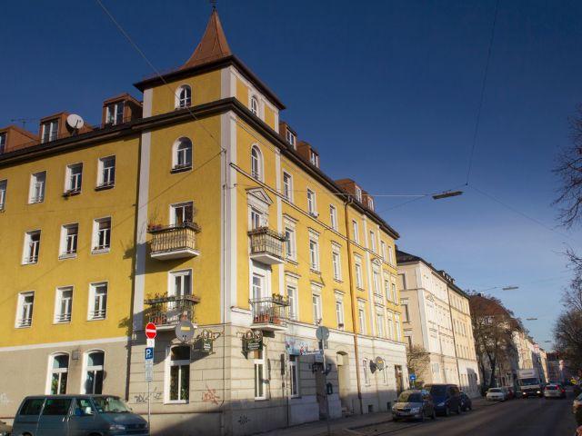 Wohngegend in München Isarvorstadt