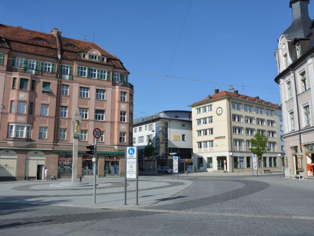 Pasinger Marienplatz 2015 nach dem Umbau
