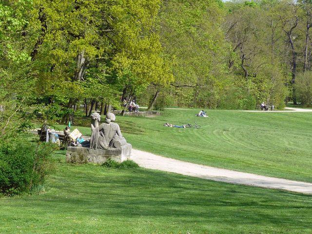 Bavariapark in München Schwanthalerhöhe