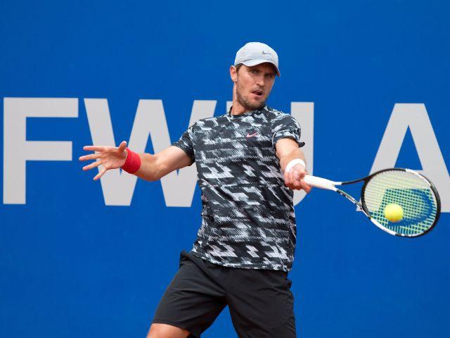 Der deutsche Tennisspieler Alexander Zwerew