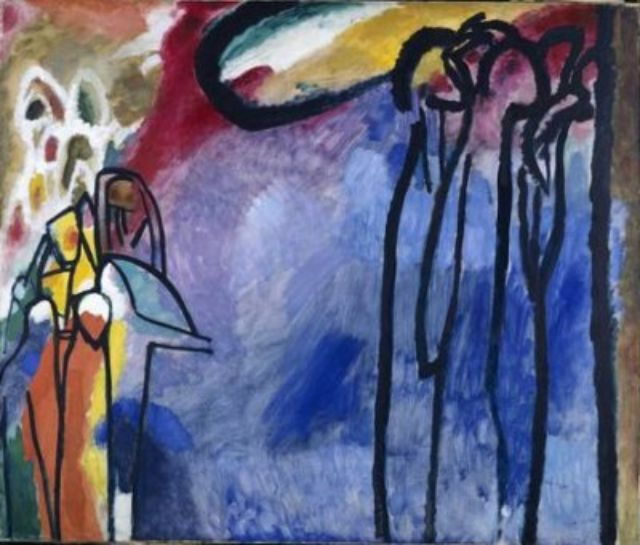 Wassily Kandinsky, Improvisation 19, 1911