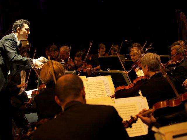 Das Orchester des Gärtnerplatztheaters.