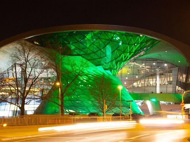 Greening BMW Welt