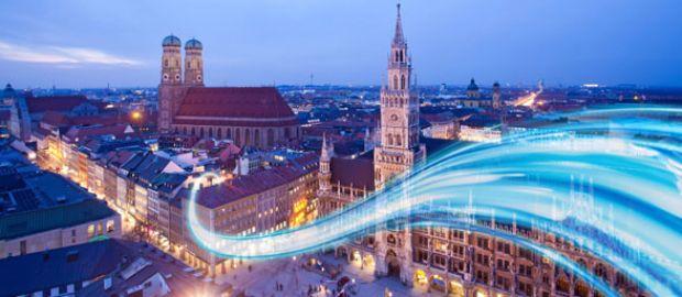 Visualisierung von München.
