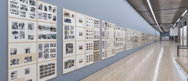 Kunstbau im Lenbachhaus - Ausstellung Gerhard Richter