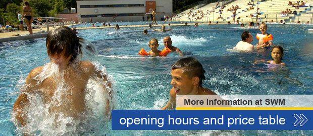 The Schyrenbad - Munich's oldest public swimming pool.