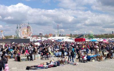 Der Riesenflohmarkt 2015 auf der Theresienwiese