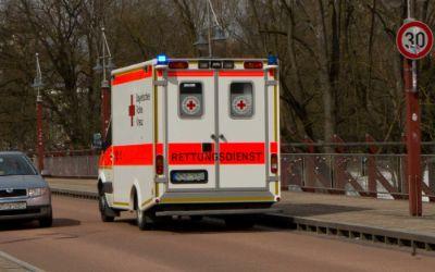 Rettungswagen München Notdienst Thalkirchner Brücke
