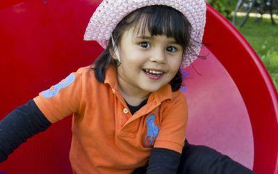 Spielnachmittage im Westpark: Kleines Mädchen