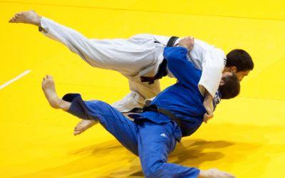 Wettkampf im Judo