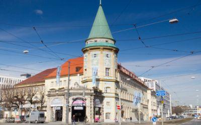 Der Stiglmaierplatz in der Maxvorstadt