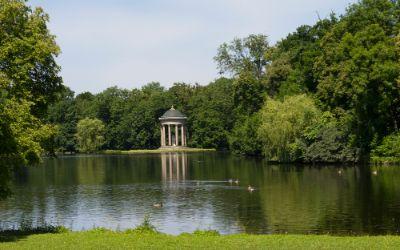 Schlosspark Nymphenburg Monopteros