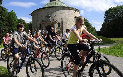Bild zum M-Wasserweg für Fahrradfahrer.