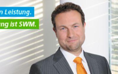 Mann im Anzug: Leistung ist SWM