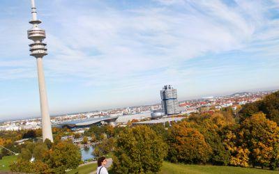 Herbst im Olympiapark