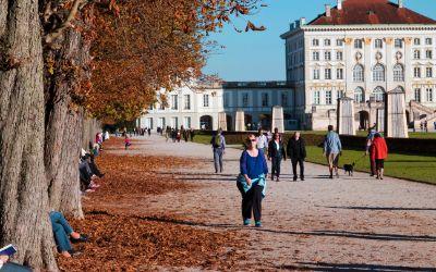 Herbst im Nymphenburger Schlosspark