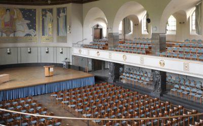 Die Große Aula der Ludwig-Maximilians-Universität München