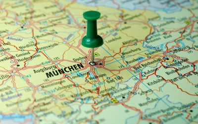 Landkarte München