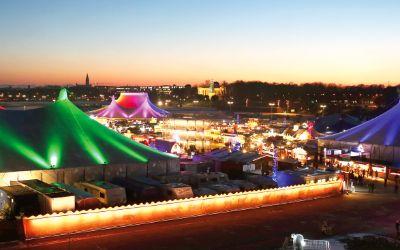 Tollwood Winterfestival auf der Theresienwiese