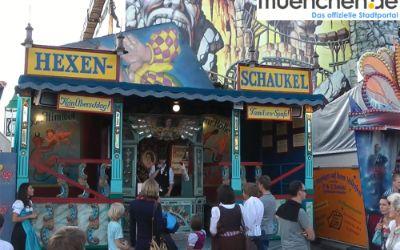 Die Hexenschaukel auf dem Münchner Oktoberfest