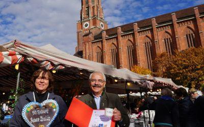 Auer Dult Jubiläum 2016: 50 Jahre Namenstassen mit Stadtrat Otto Seidl