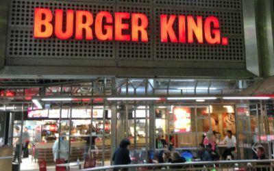 Burger King am Hauptbahnhof