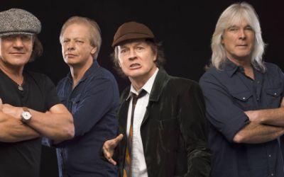 AC/DC - Promotionbild Rock or Bust