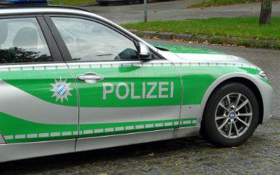 Polizeiauto in München