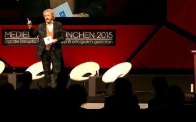 Thomas Gottschalk eröffnet die Medientage 2015