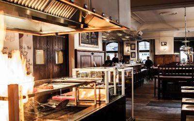 Restaurant Kapitales vom Rind von außen und innen