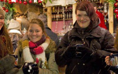 Christkindlmarkt auf dem Marienplatz