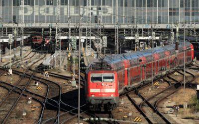 Blick auf Gleise am Hauptbahnhof