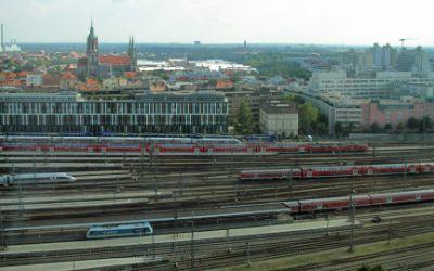 Panoramablick vom BR-Hochhaus