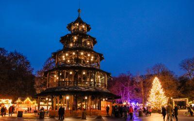 Christkindlmarkt am Chinesischen Turm