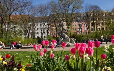 Frühling im Alten Botanischen Garten