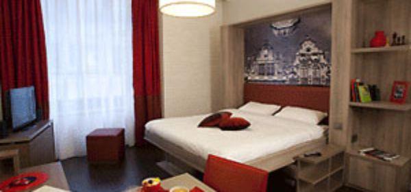 Adagio München City Doppelbettzimmer